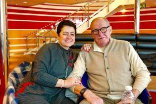 78-летний Эммануил Виторган и его 56-летняя жена впервые стали родителями