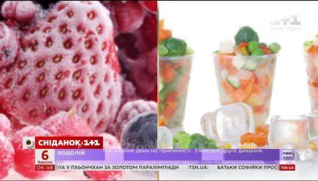 Правила заморожування фруктів та овочів
