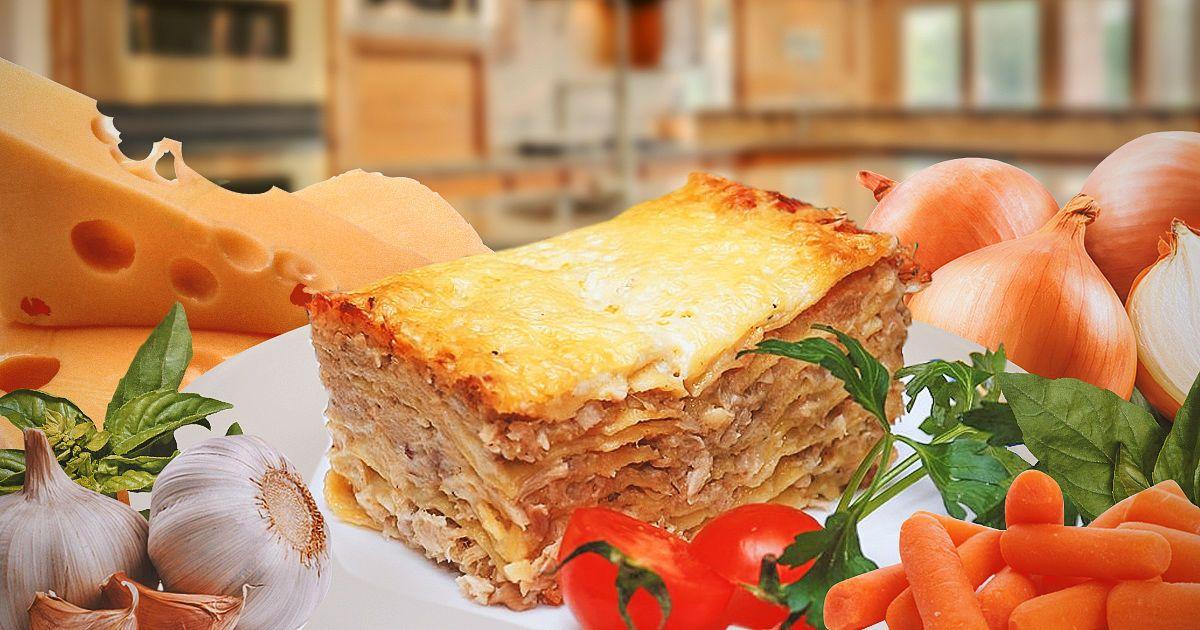 Лазанья с курицей: исключительно вкусное блюдо