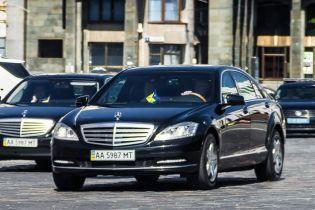Кортеж Порошенка збив старенького чоловіка у центрі Києва - ЗМІ
