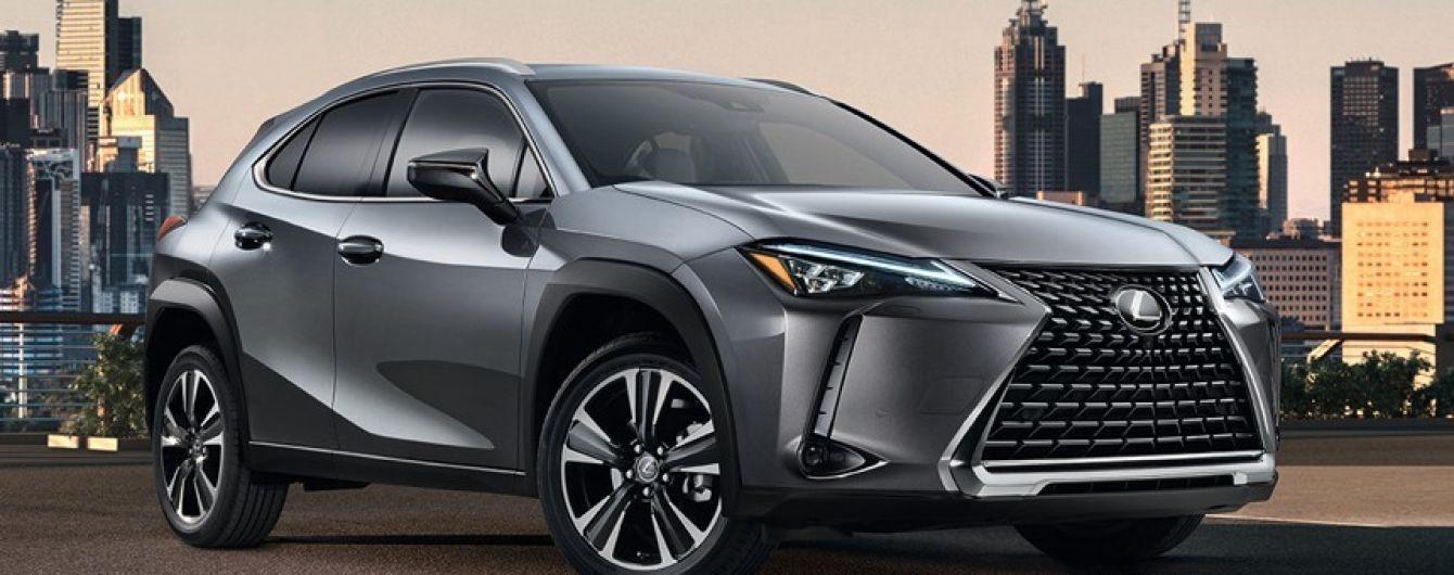 Компания Lexus представила свой самый компактный кроссовер