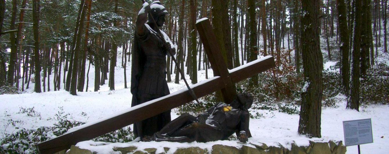 """""""Голгофа"""" на Львовщине. В Страдче есть гора, которую приравнивают к святыням Иерусалима"""