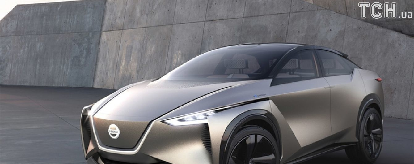 Nissan представил электро-кроссовер читающий мысли водителя