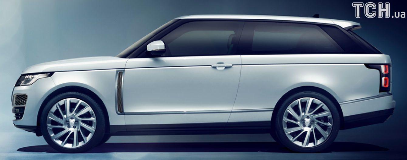 Range Rover снова станет трехдверным