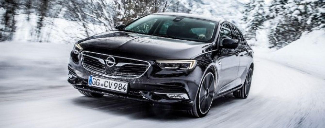 "Opel Insignia победил в конкурсе ""Зимний автомобиль-2018"""