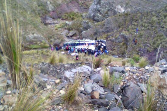У Перу автобус із пасажирами впав у 120-метрову прірву, є жертви