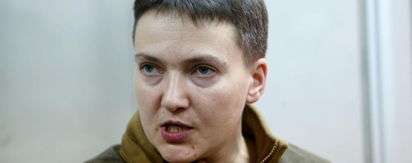 Савченко требует отменить ее исключение из оборонного комитета Рады