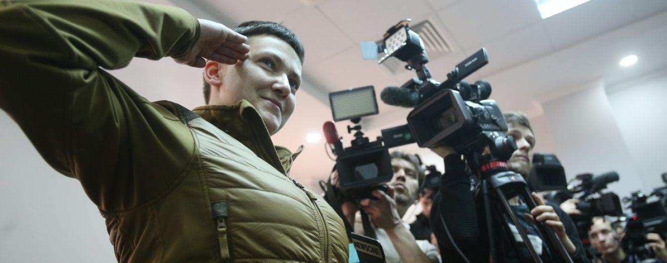 Савченко рассказала, как придумывала сюрреалистические идеи теракта для агента из АП