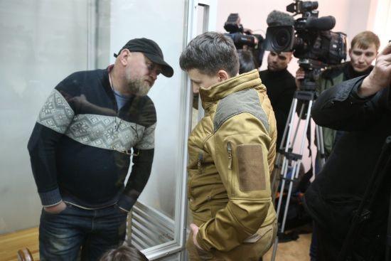 Савченко подала до суду клопотання щодо взяття переговорника Рубана на поруки