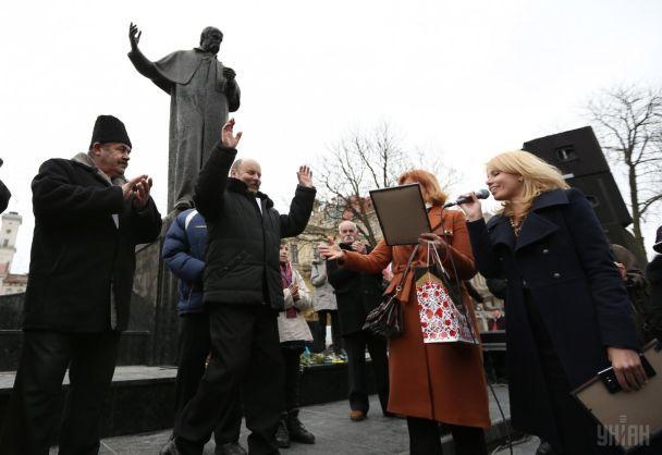 У Львові провели конкурс двійників Тараса Шевченка