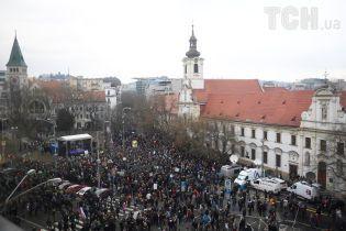 Убийство журналиста в Словакии перерастает в политический кризис и может обернуться сменой власти в стране