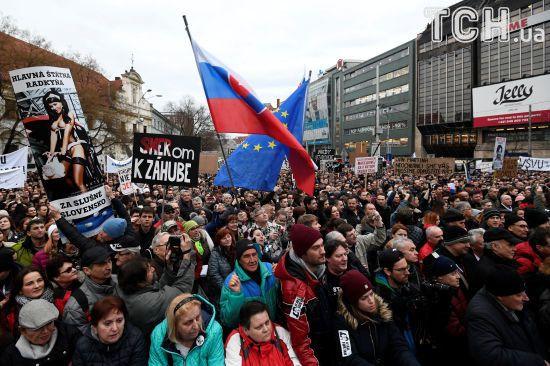 Премьер Словакии готов уйти в отставку после первого убийства журналиста-расследователя в стране
