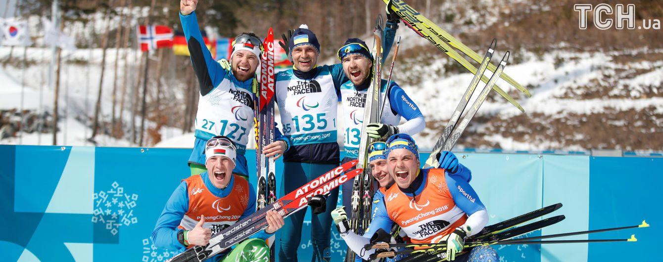 Як Україна здобула п'ять медалей у перший змагальний день на Паралімпійських іграх 2018
