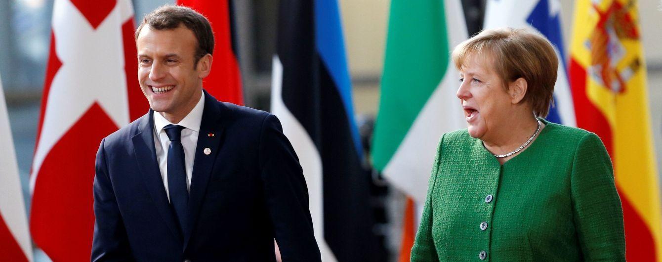 Франция и Германия отложили план реформирования ЕС, который должны были представить в марте