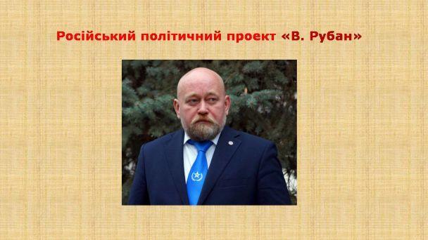 Доповідь СБУ щодо антиукраїнської діяльності Рубана