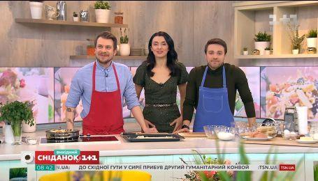 Смачний символ української столиці: готуємо котлету по-київськи в прямому ефірі