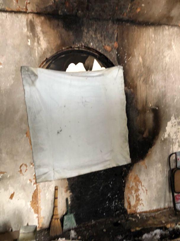 В Киеве подожгли деревянную часовню УПЦ МП