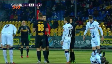 Александрия - Черноморец - 0:0. Видео матча
