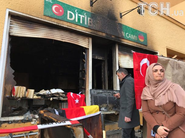 У Берліні підпалили турецьку мечеть, підозрюють курдських радикалів