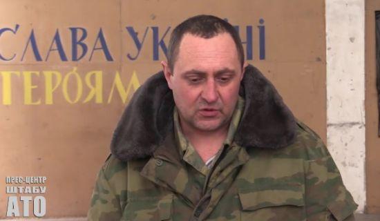 """Бойовики """"ДНР"""" звинуватили українських спецпризначенців у затриманні свого поплічника"""