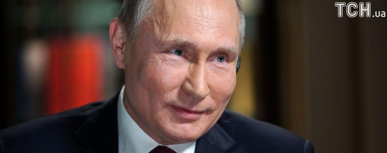 Путін закінчить свою передвиборчу кампанію масштабним мітингом в окупованому Криму