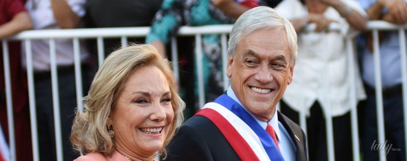 64-летняя первая леди Чили продемонстрировала два эффектных образа