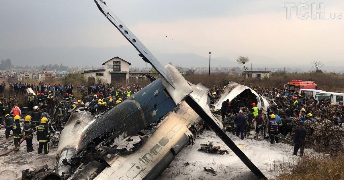 Авария самолета в Непале @ Reuters