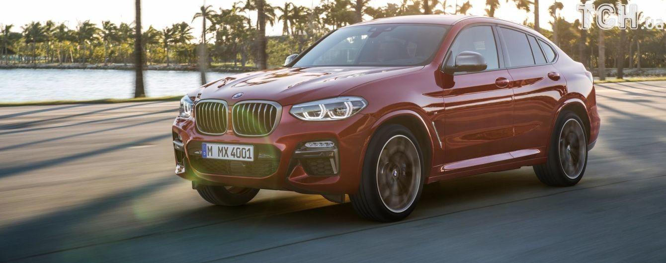Новый BMW X4 претендует на лидерство