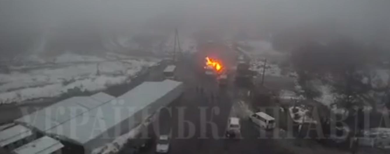 Во время описания оружия, которое перевозил Рубан, вспыхнул снаряд – СМИ