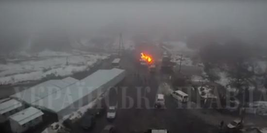 Під час опису зброї, яку перевозив Рубан, спалахнув снаряд – ЗМІ