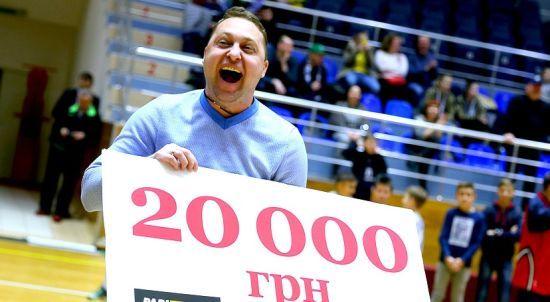Харківський уболівальник виграв джекпот у фіналі Кубка України з баскетболу