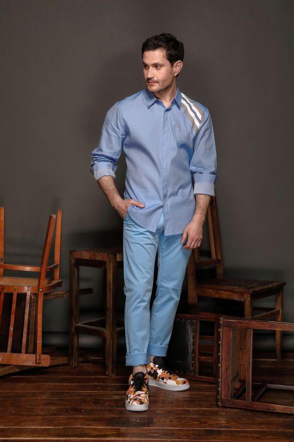 Ахтем Сейтаблаев в лукбуке мужской коллекции Andre Tan_8