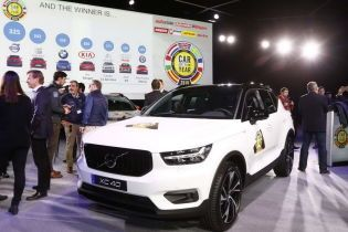 Volvo XC40 признан лучшим европейским автомобилем на 2018 год