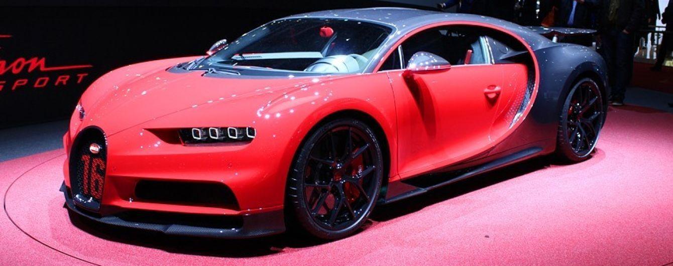 Bugatti Chiron Sport отличается от предшественника запредельной управляемостью