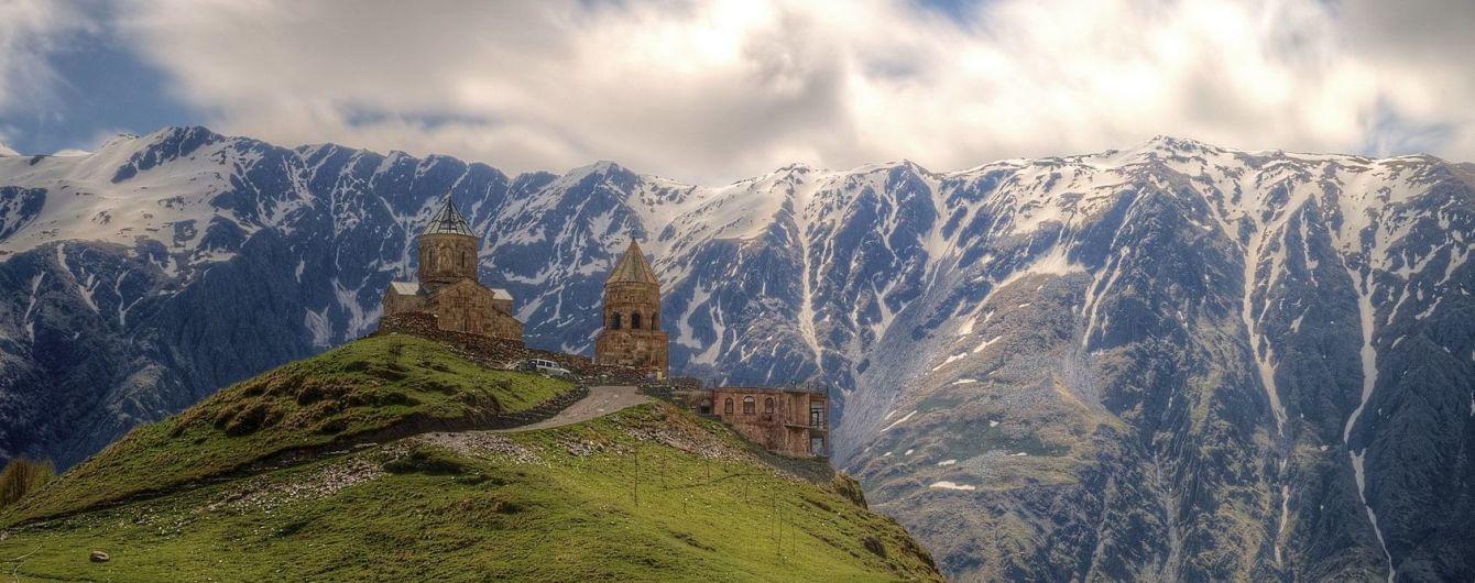 До храма - символа Грузии построят комфортабельную дорогу