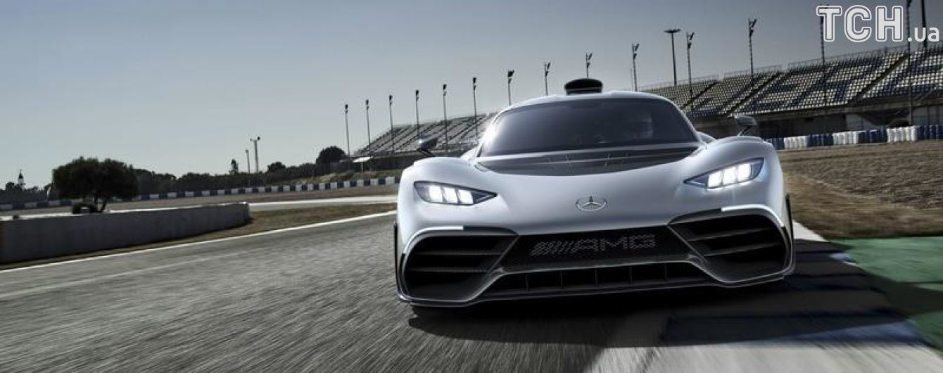 Mercedes-AMG Project One поедет покорять Нюрбургринг