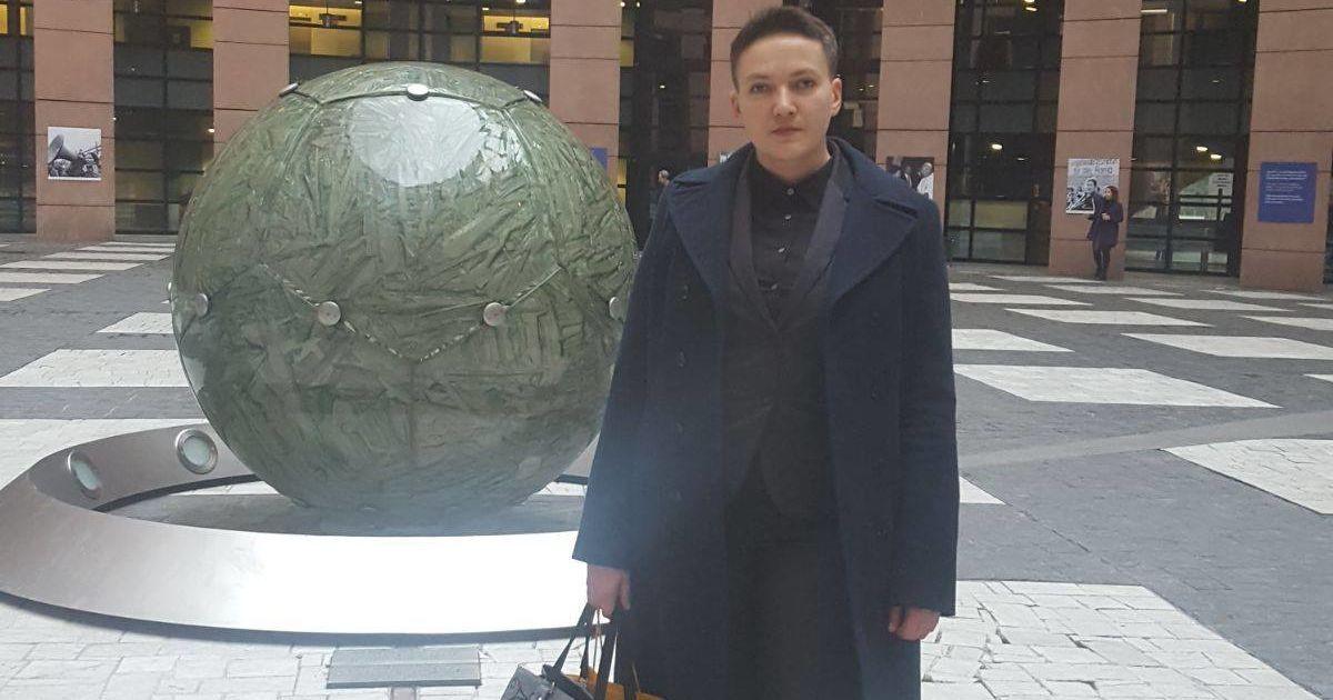 @ Facebook/Надежда Савченко - Nadiia Savchenko