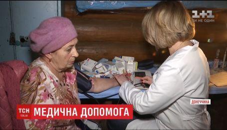 Волонтери поблизу Пісків створили власну медичну службу для місцевих мешканців