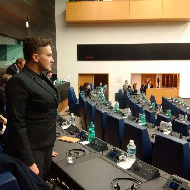 На допит не прийде. Прес-служба Надії Савченко оприлюднила її фото в Стразбурзi