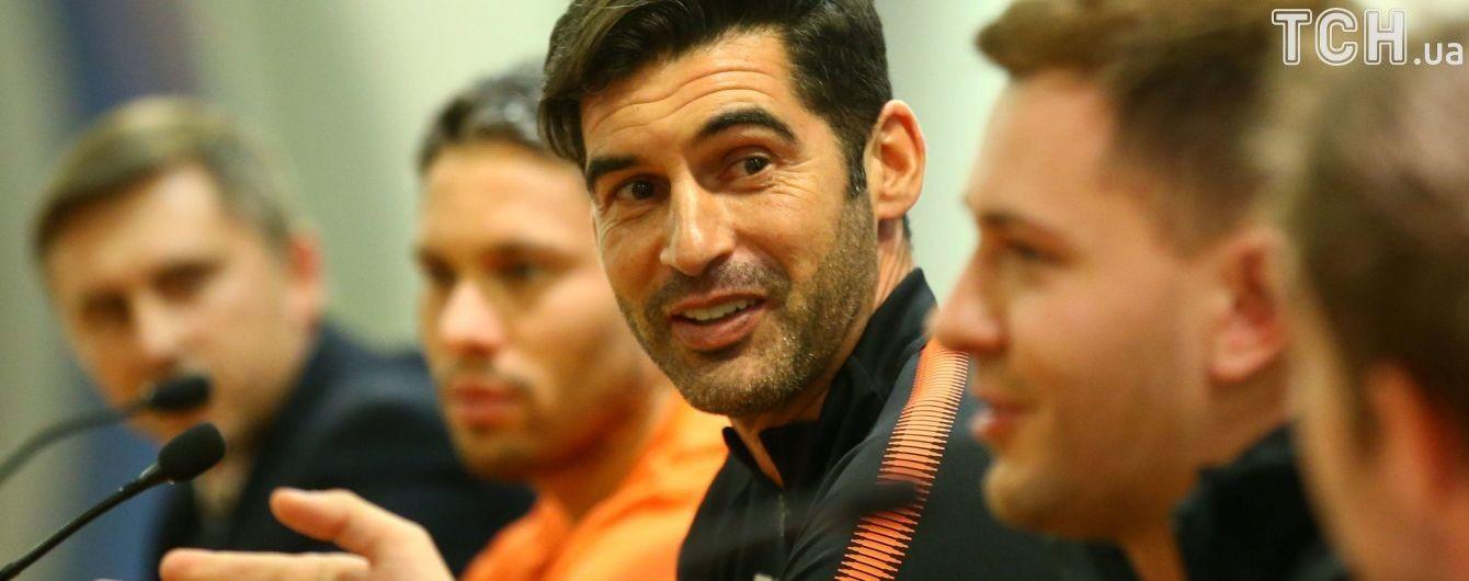 """Фонсека обіцяє відкритий футбол з """"Ромою"""": ховатися від гри не будемо"""