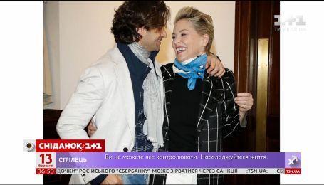 Мировые СМИ обсуждают возможную помолвку Шэрон Стоун