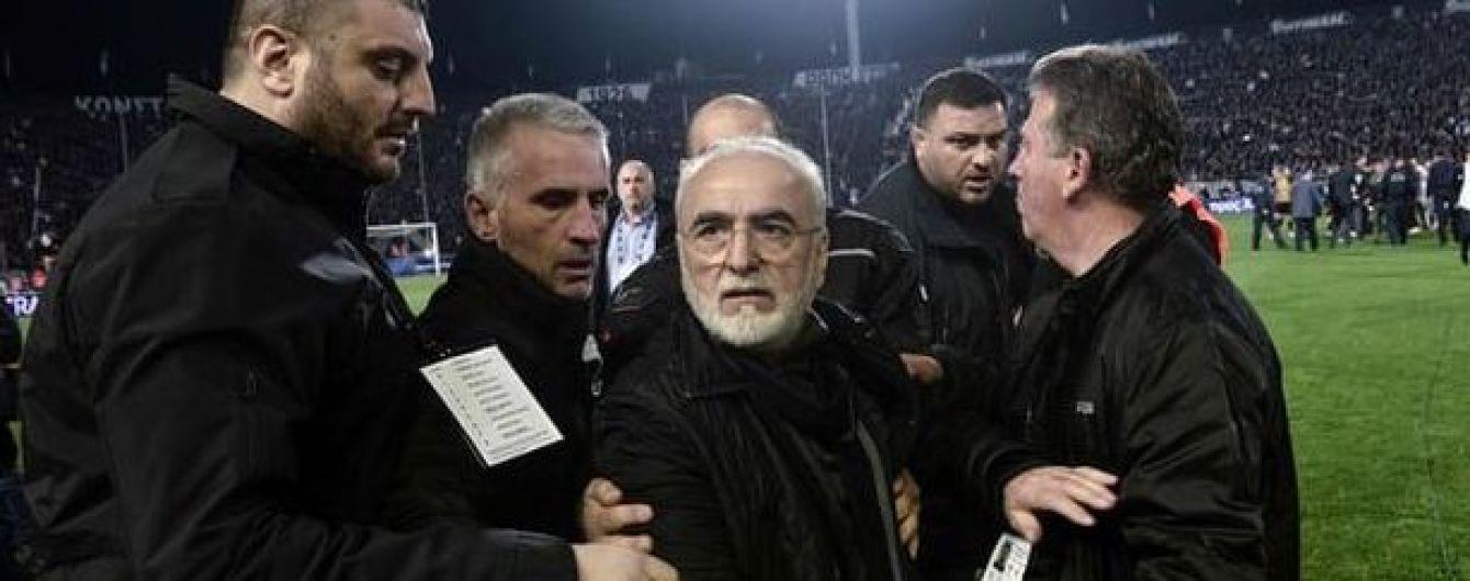 ФИФА может отстранить Грецию от международных соревнований