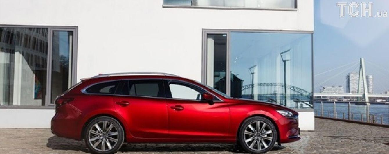 Универсал Mazda удивил обновлениями