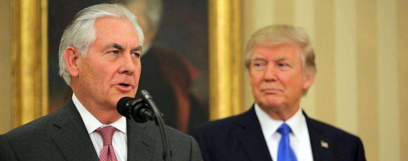Трамп назвал причину неожиданного увольнения госсекретаря США