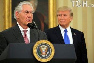 Трамп назвав причину несподіваного звільнення держсекретаря США