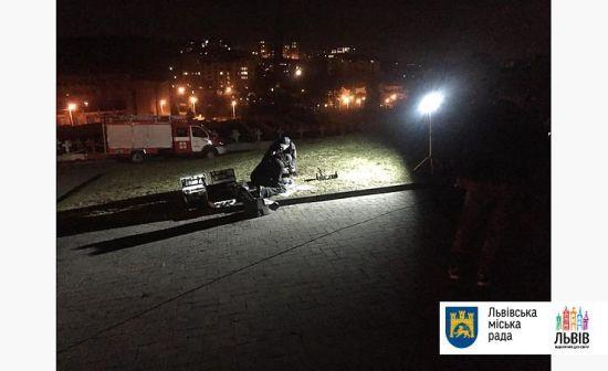 У Львові біля поховання польських орлят пролунав вибух