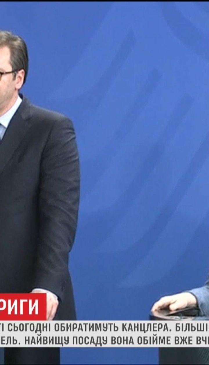 Ангела Меркель готується знову стати канцлером Німеччини
