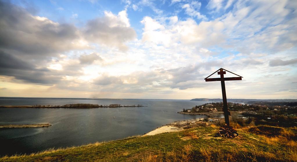 Трипілля, річка Дніпро