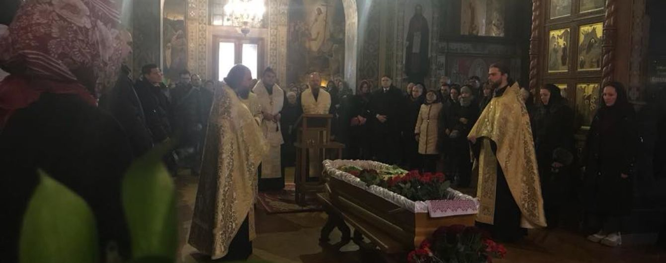Телеведущего Олеся Терещенко отпели в Свято-Троицком соборе Ионинского монастыря