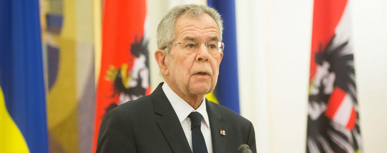 Австрия не признает выборы РФ в аннексированном Крыму - президент республики